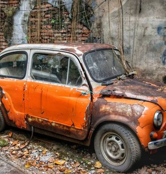 Abandoned Classic Car Boasts Its Picture Has Been Taken More Often Than Any Shrine or Temple in Bangkok