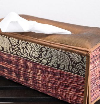 Tissue Feeling a Certain Responsibility to Lift Tissue Behind It Halfway Out of Box